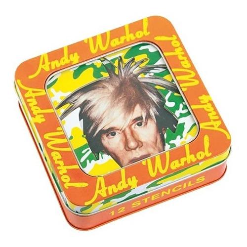 Imagen 1 de 4 de Stencil Set Andy Warhol