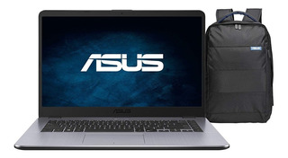 Notebook 15.6 Asus Amd-a9 4gb 1tb W10h Gris