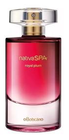 Perfume Nativa Spa Royal Plumm Colônia Lançamento Oboticário