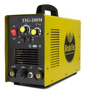 Máquina De Solda Inversora Mma + Tig-200m (220v)