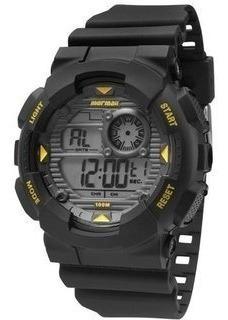 Relógio Digital Mormaii Masculino Alarme Timer Mo3415/8y