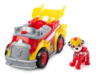 Paw Patrol Marshall! Nuevo Modelo Vehiculo Deluxe Luz Sonido