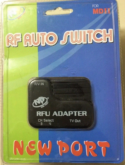 Adaptador Rf Switch Mega Drive 2 - Sega