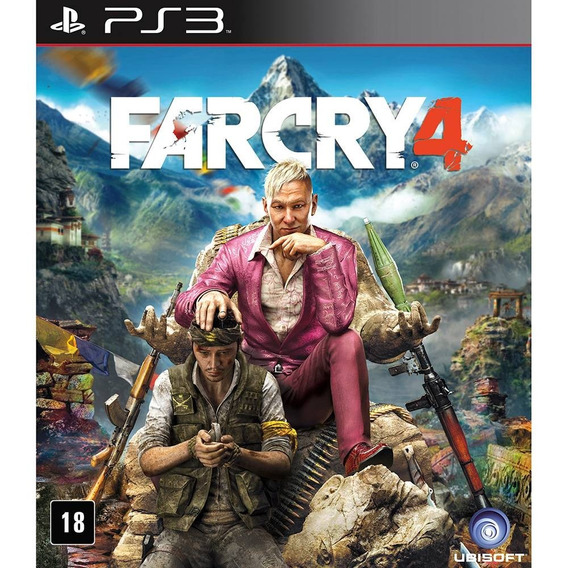 Jogo Far Cry 4 Ps3 Midia Digital Cod.psn Dublado Envio Ja