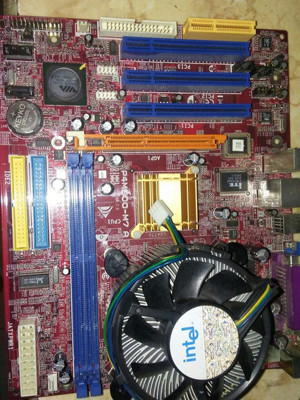 Tarjeta Madre Com Procedador Pentium 4 Para Reparar