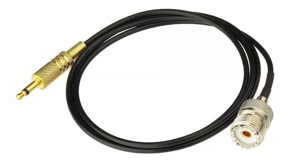 Adaptador Plug Para Antenas De Radios Conecção Uhf Para P2