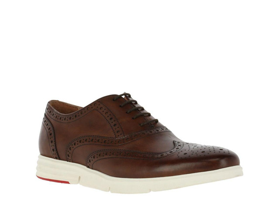 Zapato Hush Puppies Leather September Low Café