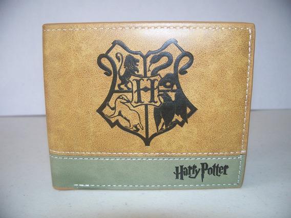 Cartera Billetera Harry Potter Escudo Hogwarts Escuela Magia