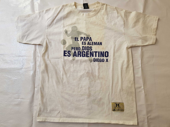 Playera Milla Diego Maradona Vintage Original