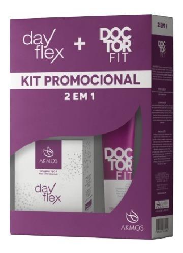 Combo Dayflex Doctor Fit - Alivio Das Dores - Akmos