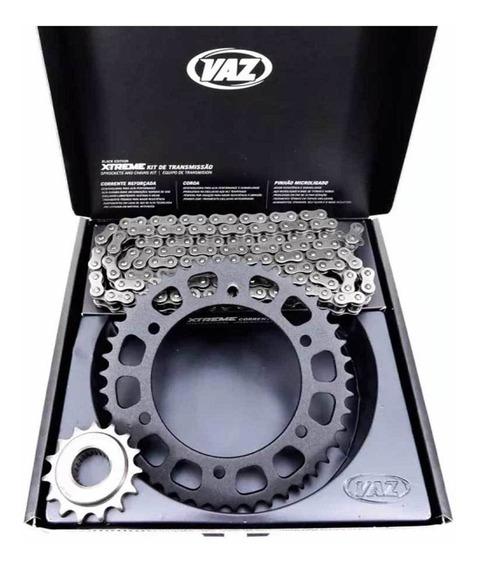 Kit Relação Fazer 250 Com Retentor Original Yamaha Aço 1045