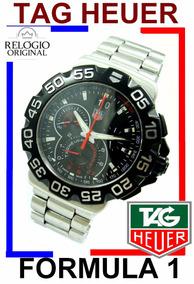 Tag Heuer Formula Crono 44 Mm Big Dat Aço Preto Cah1010