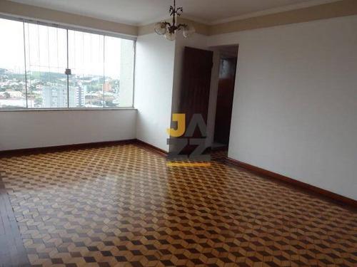 Apartamento Com 3 Dormitórios À Venda, 94 M² Por R$ 277.000,00 - Centro - Americana/sp - Ap6558