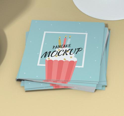 Imagem 1 de 1 de 1000x Cartão De Visita Personalizado Mini 43x48mm Couche