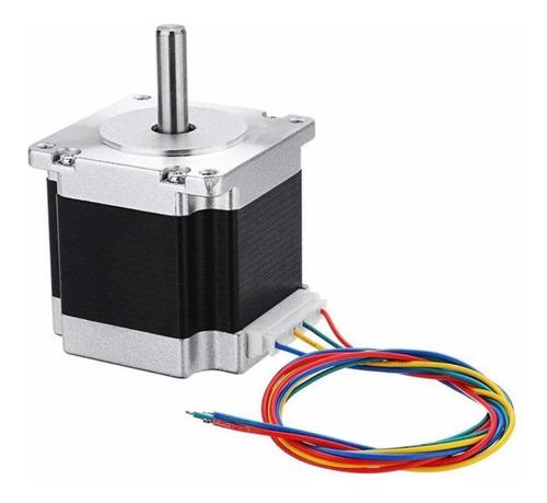 Imagen 1 de 5 de Motor De Paso Para Máquinas Láser Chicas 40x60 Cm 4 Cables