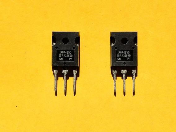 Kit Com 2 Transistor Igbt Irgp 4650