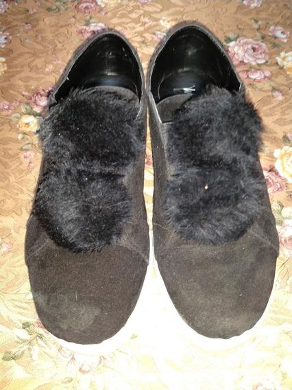 Zapatillas Con Pompon