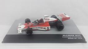 Miniatura Mclaren M23 1974 Emerson Fittipaldi 1/43( Leia )