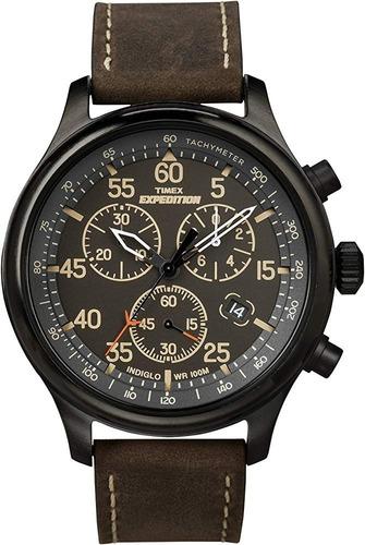 Relógio Timex Expedition Cronógrafo Indiglo T49905
