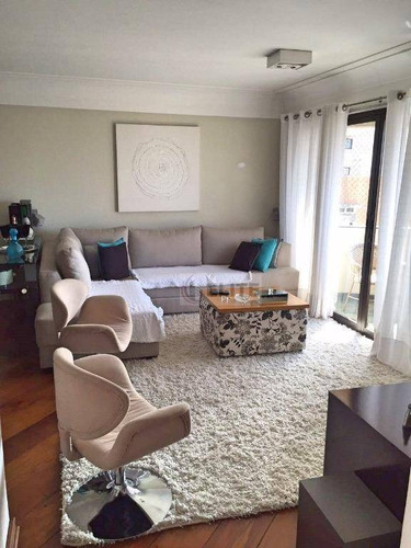 Apartamento Com 3 Dormitórios À Venda, 140 M² Por R$ 673.000,00 - Centro - Santo André/sp - Ap7701