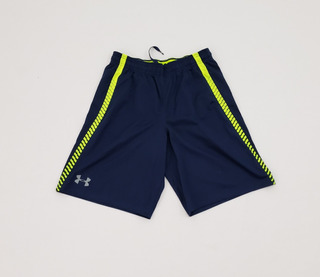 Short Under Armour Mediano Loose Fit Azul