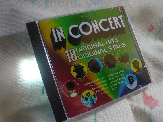 K-tel In Concert Elton John Chicago Stevie Wonder Cd Remaste