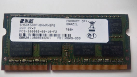 Memória P/ All In One Hp G1-2100br Ddr3 133mhz Pc3-10600