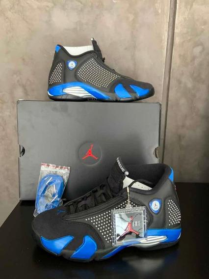 Sneakers Originales Jordan 14 Supreme Negros Originales