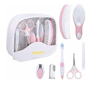 Yosoo Baby Grooming Kit, 7pcs Set Safe Hair