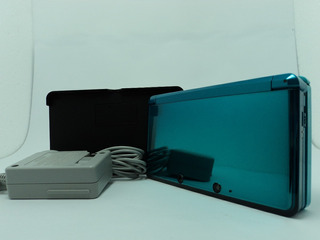 Nintendo 3ds - Azul Aguá - Compre Em 12x Sem Juros No Cartão