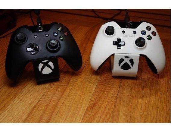 Suporte Apoio De Mesa Para Controle Xbox One S X Com Logo