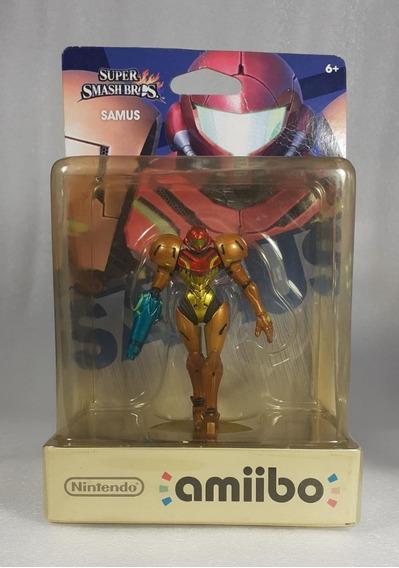 Amiibo Samus Super Smash Bros