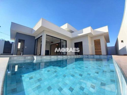 Imagem 1 de 30 de Casa Com 3 Suítes À Venda, 220 M² Por R$ 1.100.000 - Morada Do Sol - Bauru/sp - Ca2073