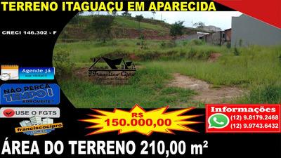 Terreno A Venda No Bairro Itaguaçu Em Aparecida - Sp. - Tr093-1