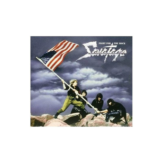 Savatage Fight For The Rock Germany Import Cd Nuevo