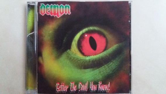 Cd Demon - Better The Devil You Know (2005) Nwobhm