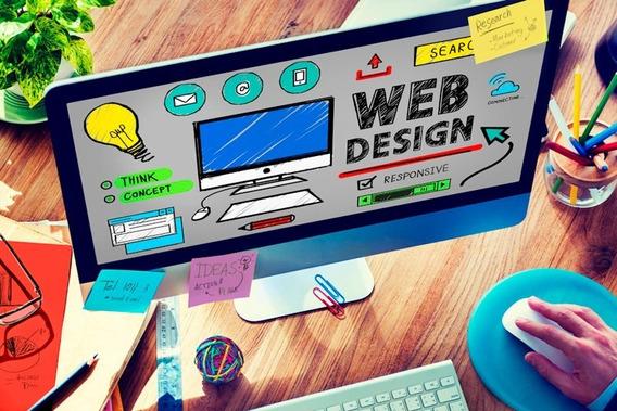 Sitio Web Wordpress Diseño Onepage O 4 Secciones