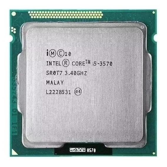 Processador Intel I5 3570 3.4ghz Lga1155 3ªga + Pasta