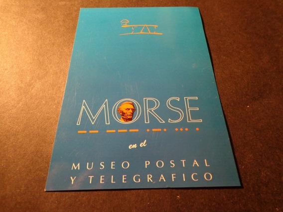 Morse En Museo Postal Y Telegráfico- Madrid- España