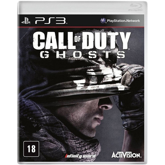 Call Of Duty Ghosts Playstation Mídia Blu-ray Importado Novo