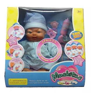 Bebe Muekitas Lalelu Expresion Real Tv / Open-toys 127 Ea