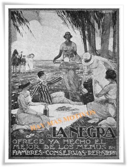 Sansinena La Negra Publicidad Papel Fotográfico A 4