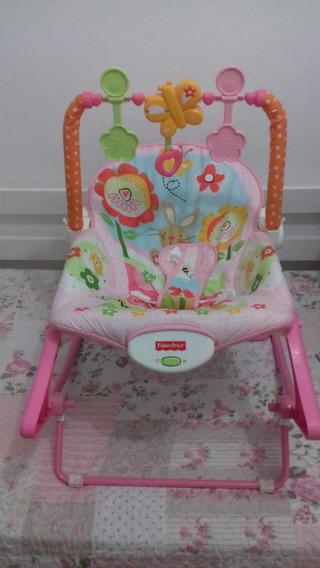Cadeira Balanço Minha Infância Meninas Marca Fisher Price