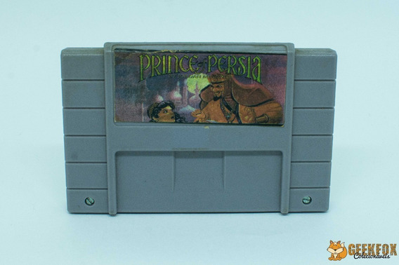 Prince Of Persia - Paralelo - Snes Super Nintendo
