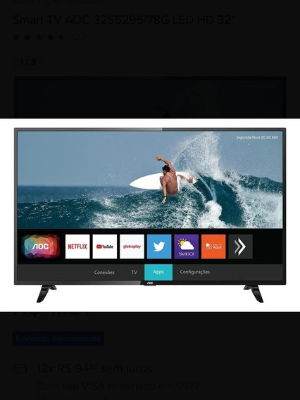 Tv Smart 43 Polegadas Aoc Roku Tv