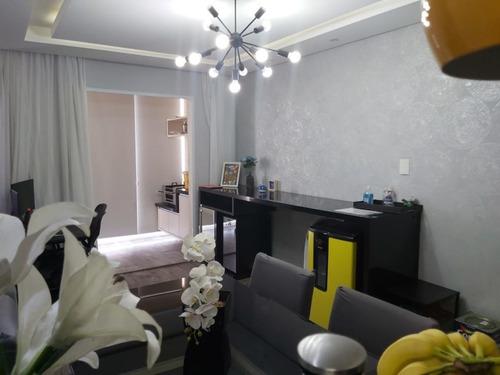 Imagem 1 de 15 de Ótimo Apartamento De 63 M² No Home Club Que Aceita Permuta Por  Apartamento De Maior Valor - Ai23593