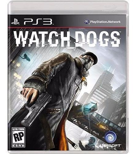 Jogo Ubisoft Novo Lacrado Watch Dogs Playstation Ps3