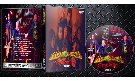 Dvd Helloween - Rock In Rio 2019 - C/ Box + Foto Brinde