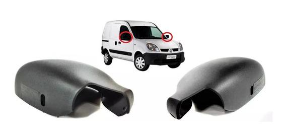 Par De Capas Retrovisor Renault Kangoo 8200245171 8200245172