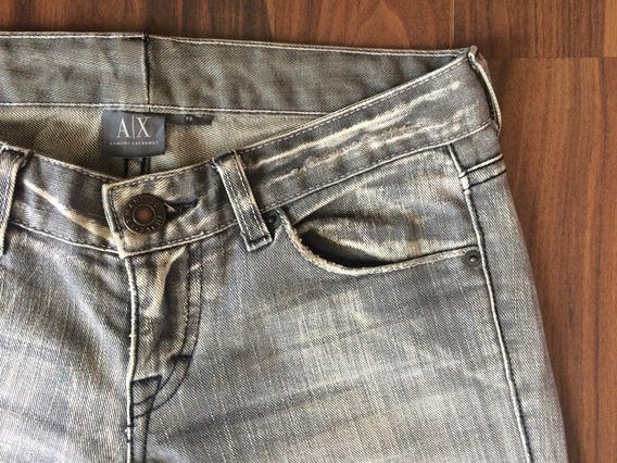Calça Armani Exchange Feminina Jeans 36 Importada Original